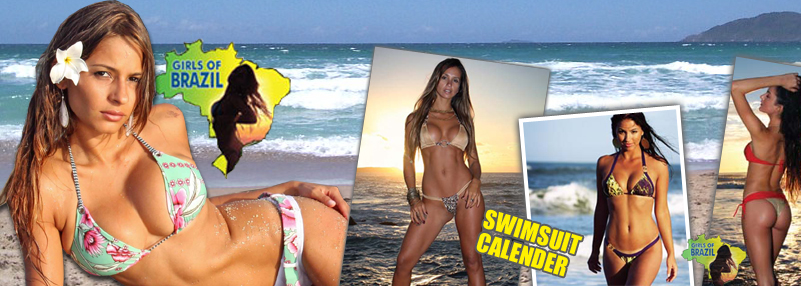 Girls of Brazil Calendar 2010. Swimsuit Calendar 2010 available now!